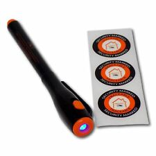 Property Minder 2 in 1 Uv Pen & Light Permanent Invisible Ink Security Labels