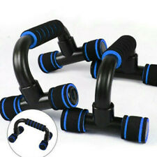 1 Pair of Push Up Bars Non-slip Rubber Handles Stands Fitness Exercise Stand