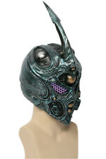 XCOSER Guyver Helmet Bio Booster Cosplay Full Head Mask Halloween Mask with LED