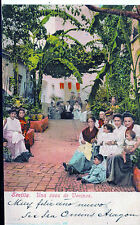 España Postal de Sevilla Escena de una casa de vecinos (CB-281)