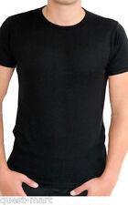 Thermal Mens Short Sleeve Vest T Shirt Warm Underwear Top Base Layer Under Wear