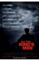 """All The King's Men Original  2 Double Sided Movie Theater Poster 27"""" x 40"""" Penn"""