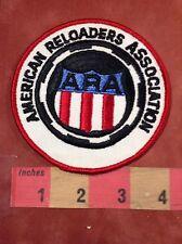 Vintage ARA Gun Related Patch AMERICAN RELOADERS ASSOCIATION 87NH
