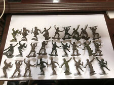 """Marx Toys MXR-RUS-N """"WWII 27 Russian Infantry"""" 54mm Plastic WWII Toy Soldiers"""