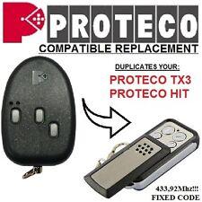 PROTECO TX3, PROTECO HIT compatible remote control / Clone transmitter 433,92Mhz
