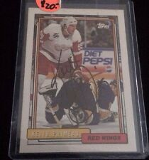 KEITH PRIMEAU 1992-93 TOPPS Autographed Signed AUTO HOCKEY Card 99 RED WINGS