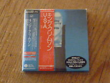 King Crimson: USA HQ CD+DVD+Sleeve 40th Japan Mini-LP CD IEZP-68 Mint (bruford Q