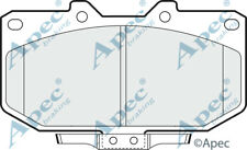 Pastillas de freno delantera para nissan 300 ZX Genuino APEC PAD698