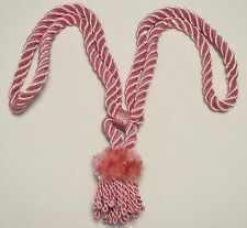 """Curtain / Chair Tie-Back- 24""""spread with 4""""lion mane tassel - 5 colors available"""