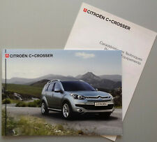 V14100 CITROEN C-CROSSER - CATALOGUE - 09/07 - A4 - FR