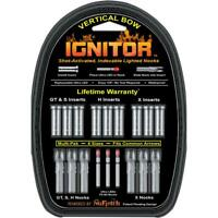 NUFLETCH IGNITOR NOCKS RED UNIVERSAL FIT 3 PK.
