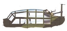Squadron Ju 88G Clear Aircraft Canopy Sq9150