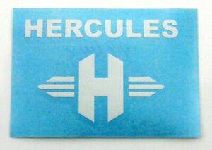 Hercules Prima M Optima P MF HR Rahmen Aufkleber Weiss Dekor Schriftzug Germany