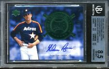 2005 UD Hall of Fame Cooperstown Calling NOLAN RYAN Autograph #11/15 BGS 10 auto