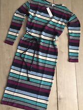 Esprit Strickkleid Maxikleid Kleid Gr S 36 NEU Streifen Super Farben + Gürtel