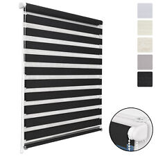 Sol Royal DL2 Double Layer Roller Window Blind Day Night LxW 150x40cm Anthracite