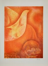 Maurice ARAMA - Lithographie signée - Terre de paix