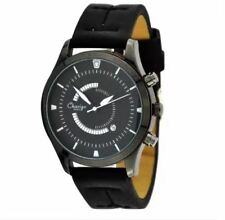 DOOKA Chaxigo Arnold's Men's Military Style Black Leather Strap Watch 2016-2 (Bl