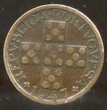 PORTUGAL  10  centavos 1947
