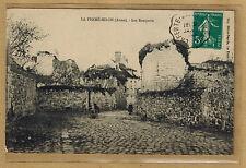 Cpa La Ferté Millon - les remparts wn1000