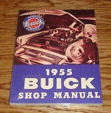 1955 Buick Shop Service Manual 55