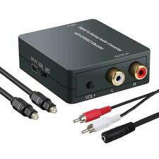 Proster Decoder with Volume Adjustable Support Dolby AC-3/ DTS Digital to Analog