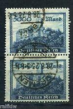 DT. Reich 5000 marchi Wartburg 1923 paia buona colore Michel 261 B esaminati (s8886)