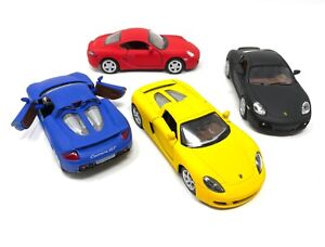Porsche Carrera GT Cayman S Pull Toy Car Scale 1/34 Detailed Official Licensed