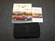 2008 Chrysler Sebring Owner Owner's Manual Convertible  LX Touring Limited