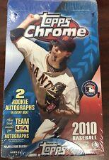 2010 Topps Chrome бейсбол хобби нераспечатанный заводской упаковке хобби коробка с 24 пачек