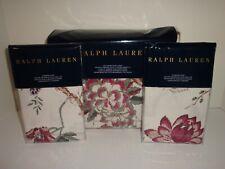 Ralph Lauren Notting Hill Abbey Full Queen Duvet Cover Shams Set Cotton Floral