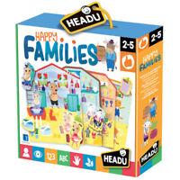 Happy Families, Giochi didattici educativi HEADU, (2-5 anni)