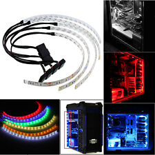 60CM Flexible LED Case Strip Light For PC Computer Decor DC12V Waterproof