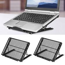 Schwarz Portable Folding Laptop Notebook Schreibtisch Tisch Ständer Bett Tablett