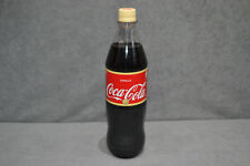 Coca Cola Vanilla 1 Litre 1L Clear Thick Plastic Bottle Germany FULL Sealed New