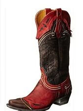 Old Gringo Noseque VINTAGE Brown Red Cowboy Cowgirl Western Boots 9 Womens
