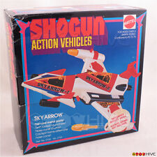 Vintage Shogun Action Vehicles Sky Arrow 1978 by Mattel dented worn original box