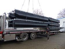 Pontonbausatz: Katamaran Ponton-Hausboot 6,2m x 2,5m mit Kunststoff Schwimmköper