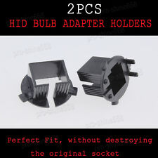 2pcs HID Conversion Xenon Bulbs Holders Adapters Adaptor H7 For Hyundai Santa Fe