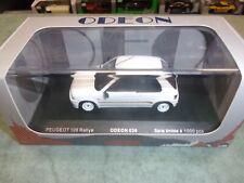ODEON Peugeot 106 Rallye Série Limitée 1:43 Voiture Miniatures - Blanche