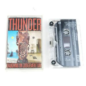 Thunder - Laughing on Judgement Day - Tape Cassette