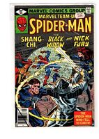 Marvel Team-Up 85 Spider-Man and Shang Chi Black Widow Nick Fury  NM 1979