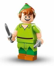 Disney Lego Minifigure.  Peter Pan.  Pack has been opened to verify item.
