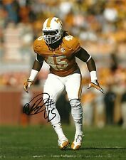 Aj A.J. Johnson Hand Signed Tennessee Volunteers 8X10 Photo W/Coa