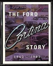 The FORD CORTINA Story 1962-1982 - Original Collectors Cards Mk 1, 2, 3, 4 & 5
