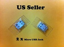2 x Samsung Galaxy Ace GT-S5830 USB Charging SYNC Connector Socket Dock Port