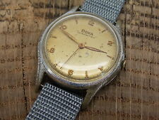 Vintage Antique Swiss Made Doxa Men's Watch Antimagnetique