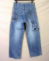 vtg 90s euc Paco Jean Co. Denim Jeans Loose Hip Hop jnco Carpenter 18 / 30 X 30