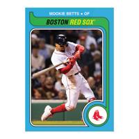 2019 Topps Throwback Thursday TBT Conjunto de 21 ~ #123 Mookie Betts Boston Red Sox