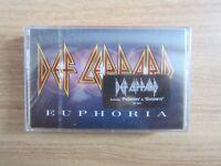 Def Leppard – Euphoria Korea Edition Cassette Tape BRAND NEW